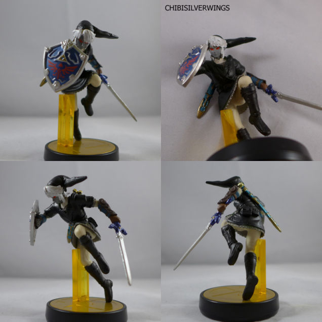dark link custom amiibo
