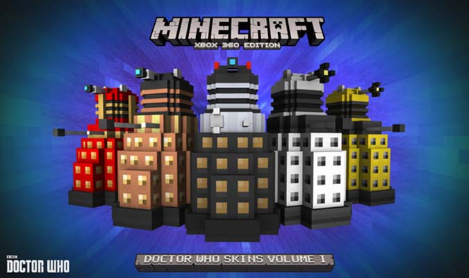 Travel in time and space with Minecraft Doctor Who