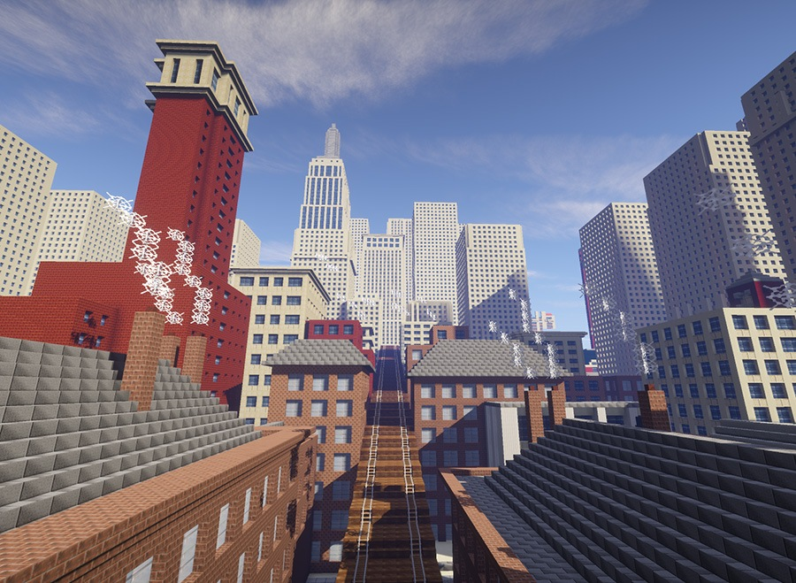 The Minecraft recreation of The Soul of the Soulless City