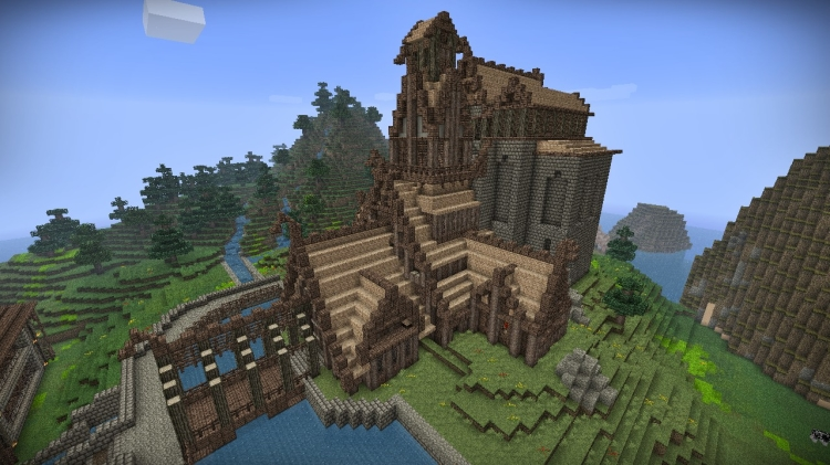 Skyrim skins coming to Minecraft PS editions