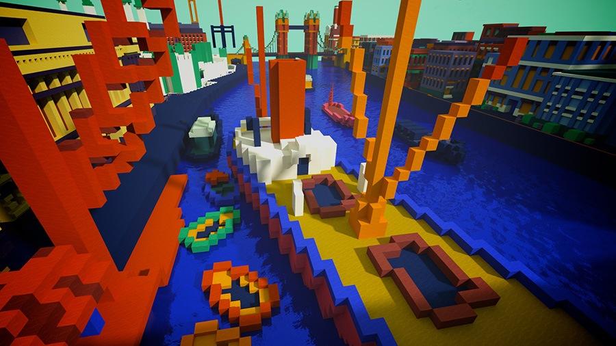 Explore paintings in Minecraft