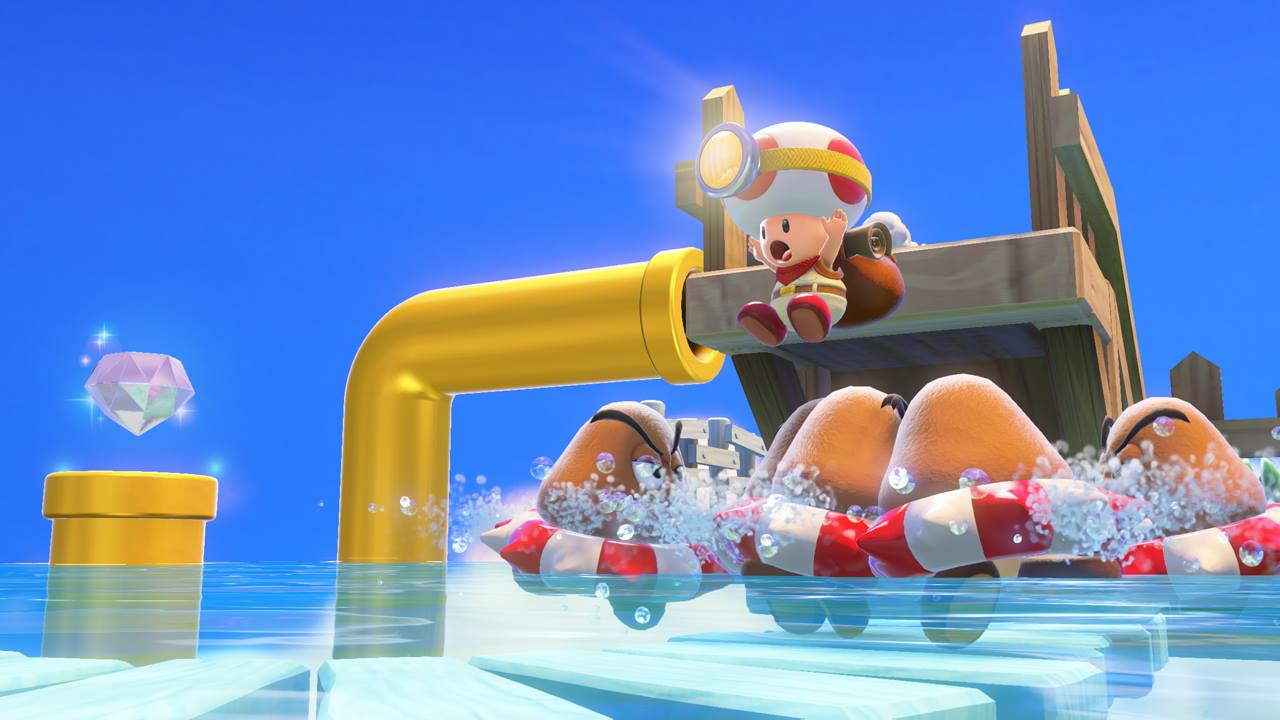 Captain Toad: Treasure Tracker will have 70 stages