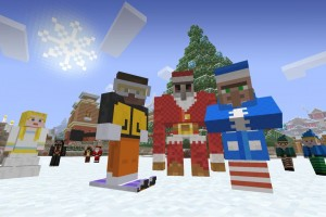 Minecraft Festive Mash-Up 01