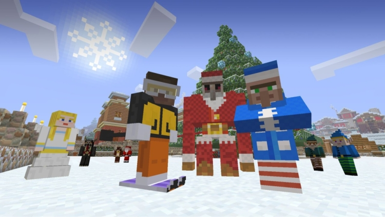 Festive Mash-Up now out for Minecraft on Xbox