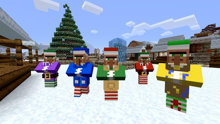 Minecraft Festive Mash-Up 02