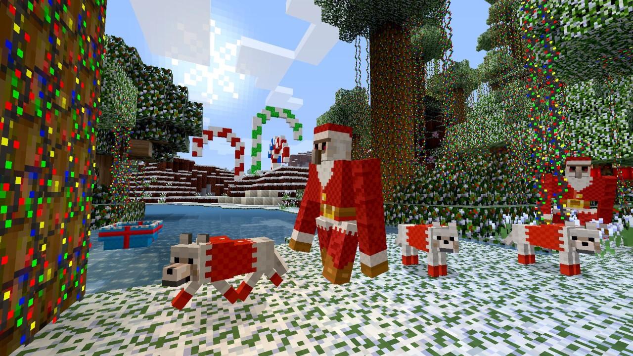 Minecraft Festive Mash-Up 03