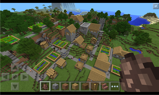 Minecraft Pocket Edition now on Windows Phones