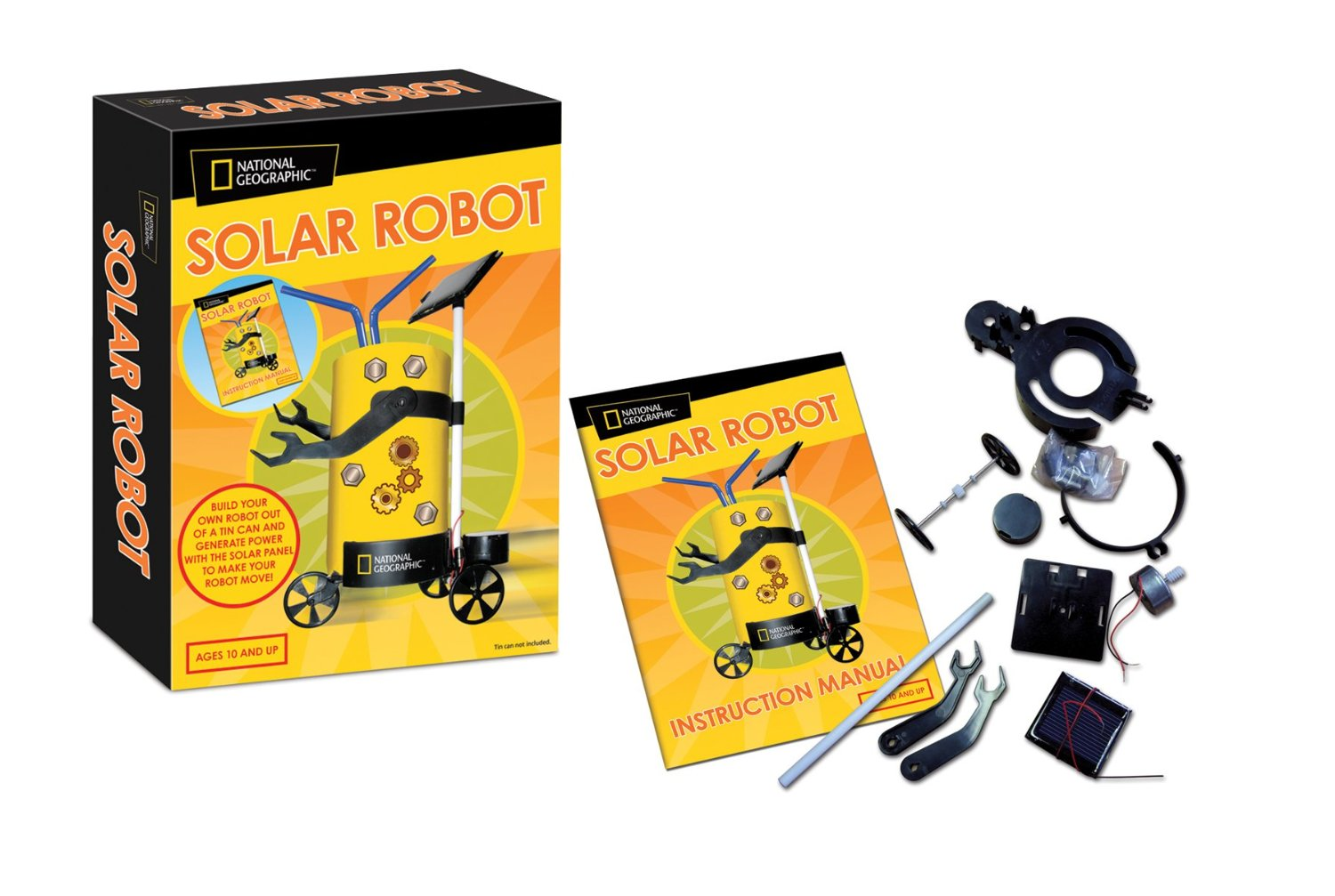 National Geographic Solar Robot
