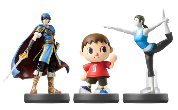 Marth, Villager, and Wii Fit Amiibos are almost sold out