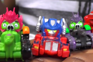 angry birds transformers toys
