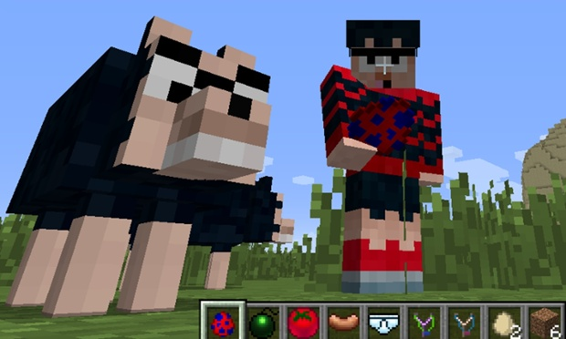 Dennis the Menace joins Minecraft in new mod