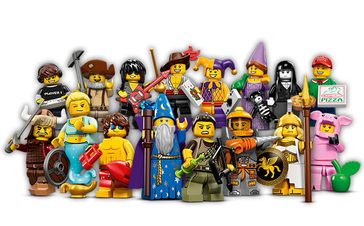 Meet the new LEGO Minifigures