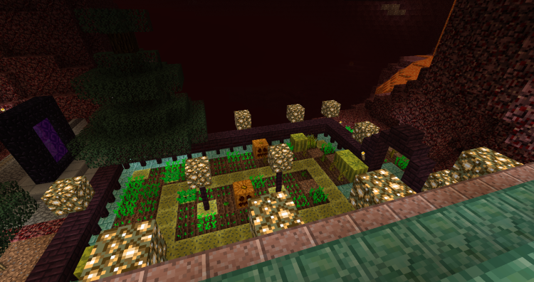 Feed your Minecraft farm with wet sponges!