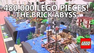 Massive Lego city made with nearly 500,000 pieces!