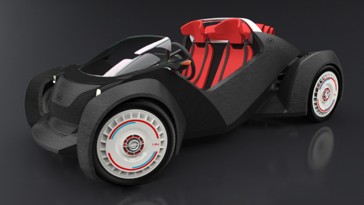 3D print a car? What madness is this?