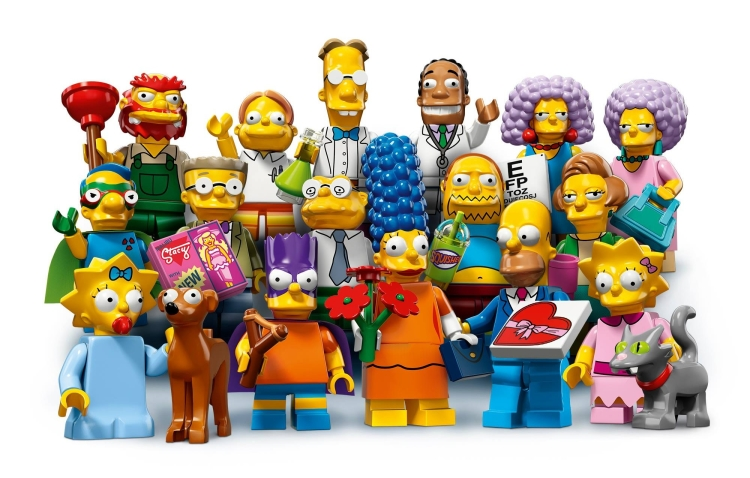 The Simpsons Lego Minifigures Series 2 launch 1st May