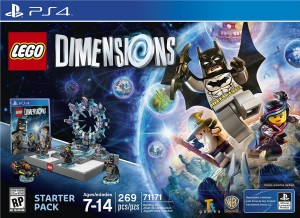 LEGO Dimensions PS4 Box