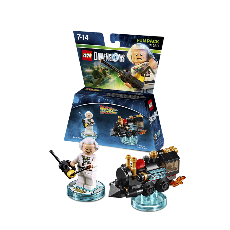 Lego Dimensions trailer adds Doc Brown to the line-up