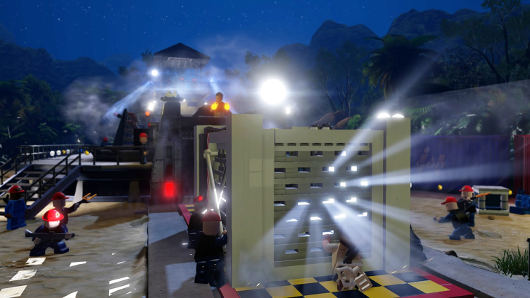 LEGO Jurassic World DLC emerges