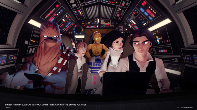 Disney Infinity 3.0 loaded with Star Wars and game-play enhancements