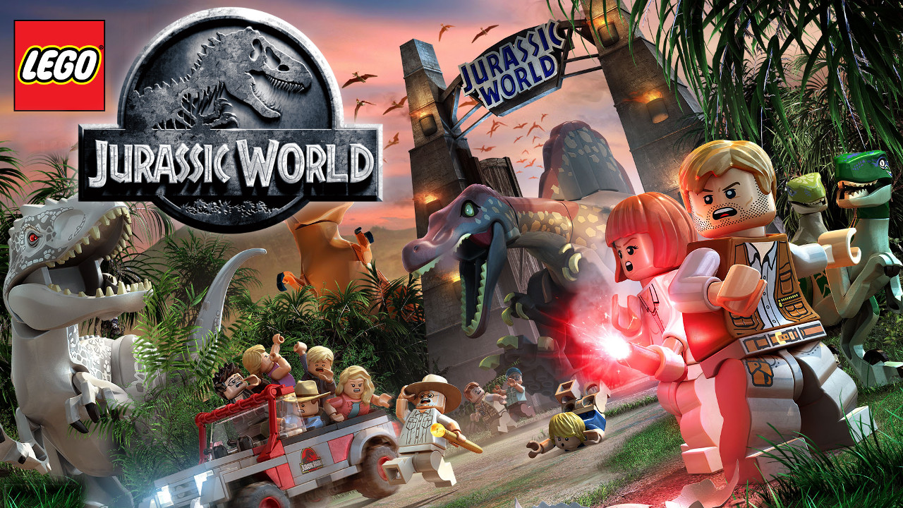 LEGO Jurassic World packs in 20 reptiles