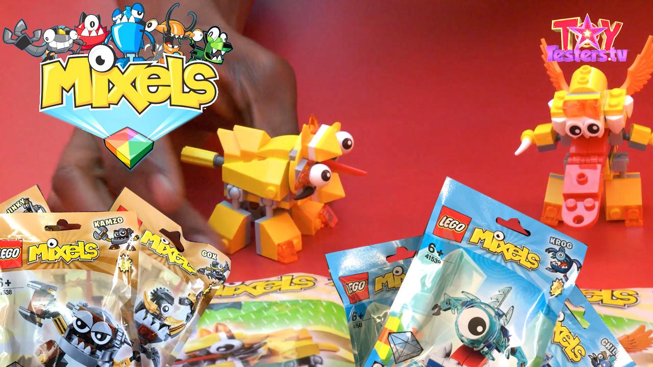 LEGO Mixels series 5 opened at Hamleys