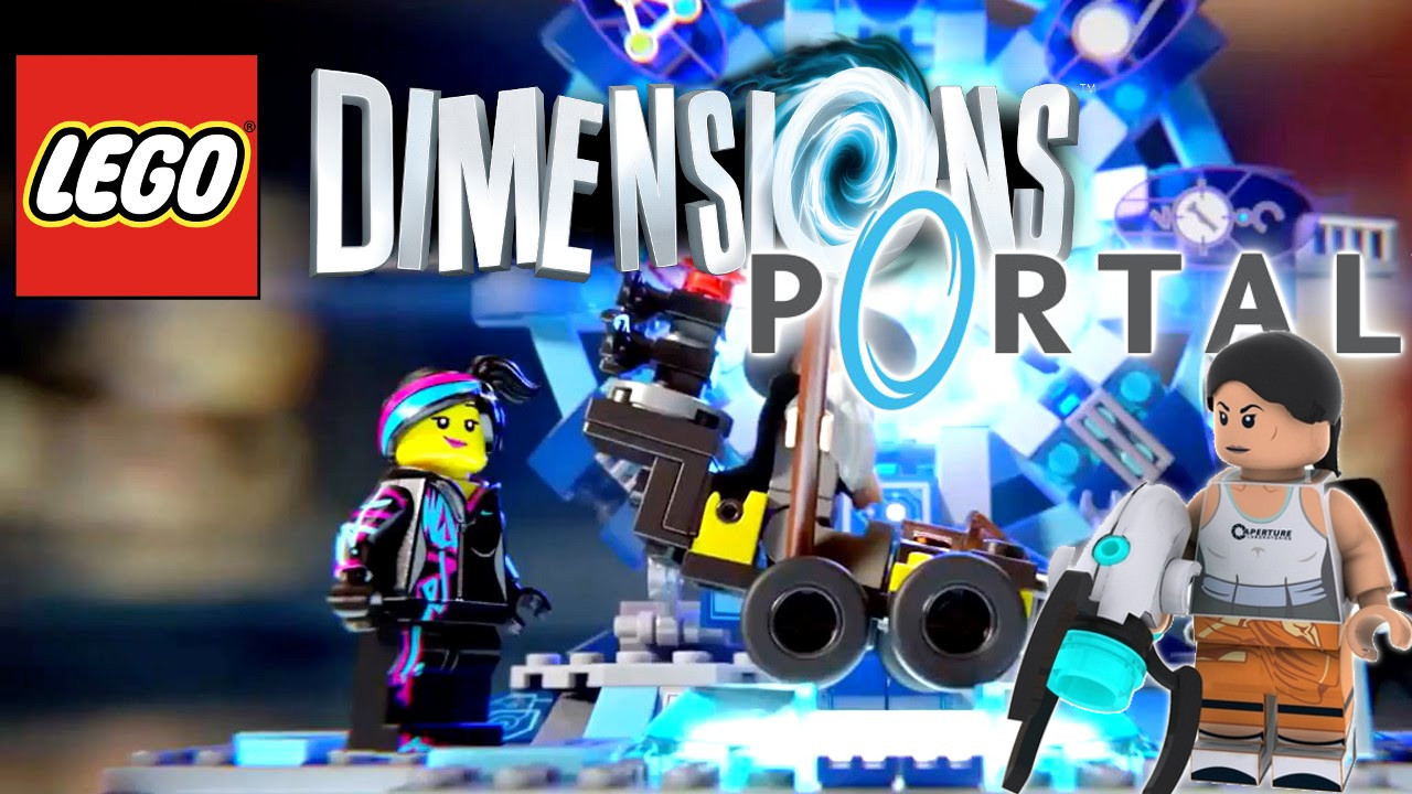 Portal and The Simpsons confirmed at retail for Lego Dimensions