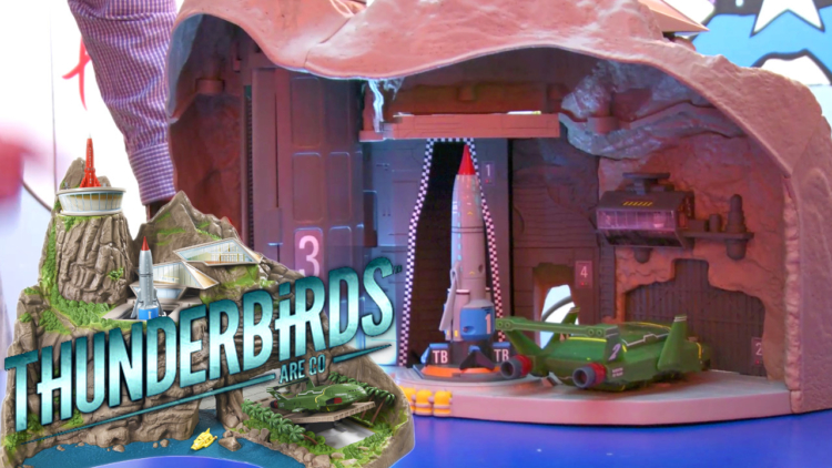 Thunderbirds Tracy Island reinvented for 2015 with smart toys, lights and sounds