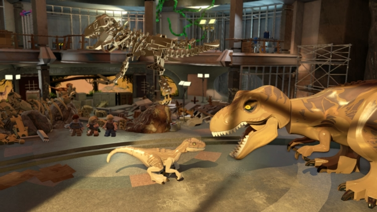 Lego Jurassic World launches with new trailer