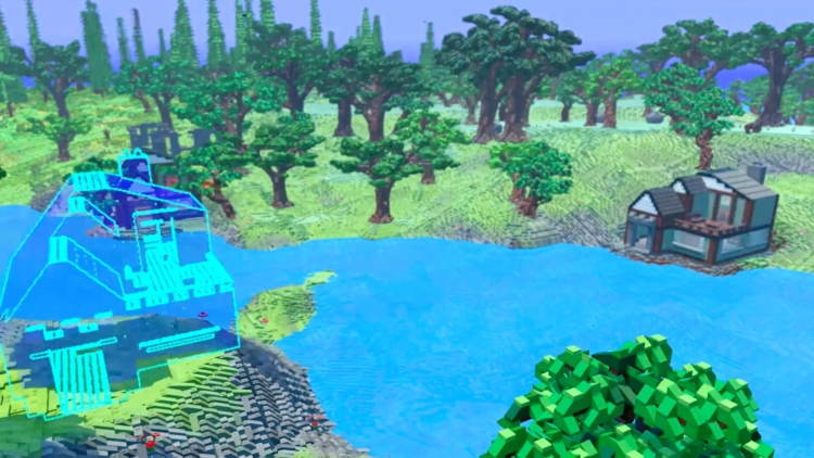 LEGO + Minecraft = LEGO Worlds