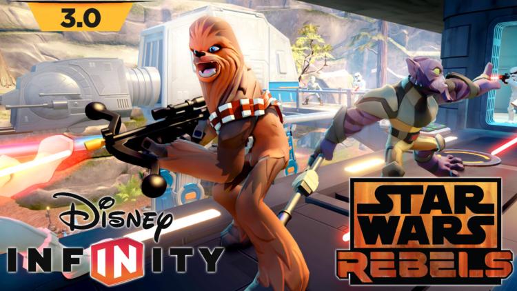 Star Wars Rebels lands in Disney Infinity 3.0
