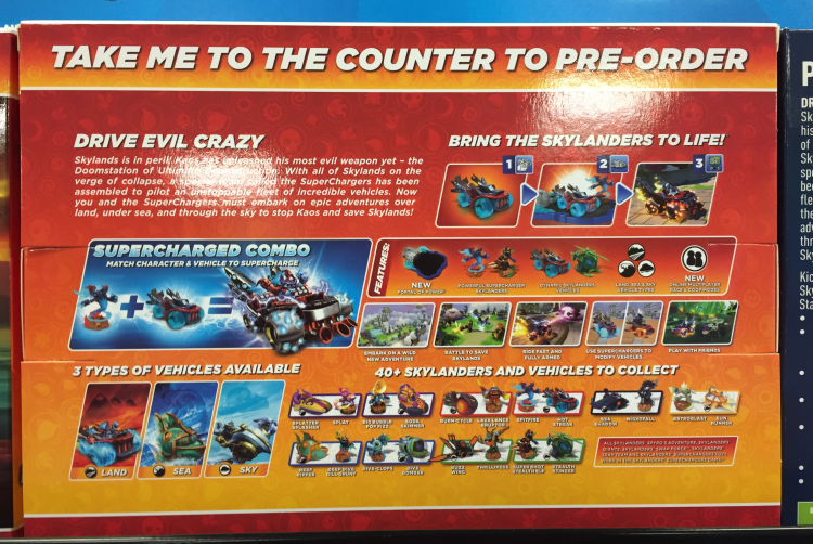 Skylanders Superchargers online mode confirmed