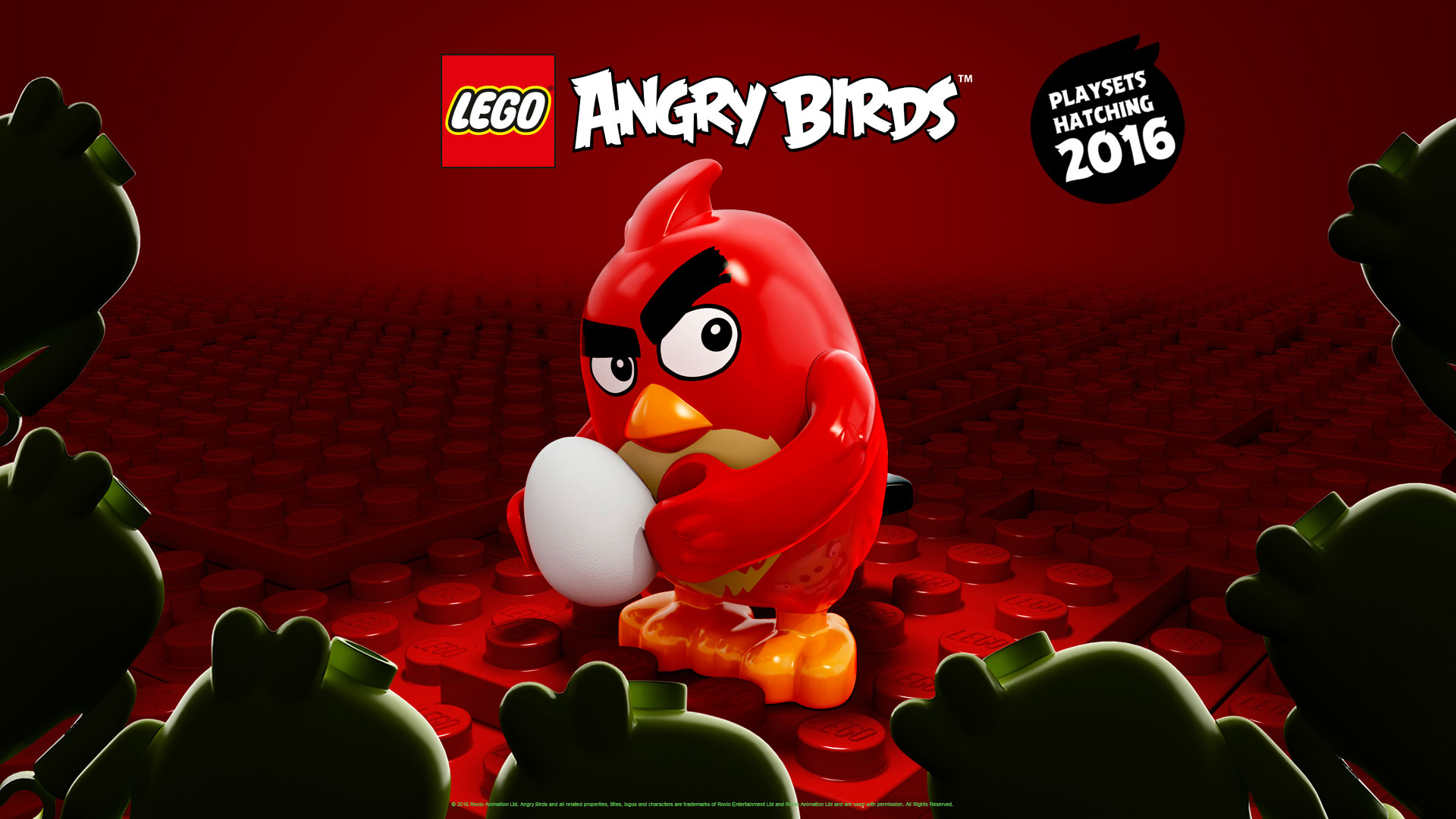 LEGO Angry Birds step out in poster form