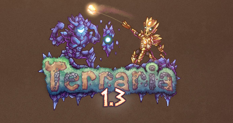 Terraria 1.3 adds simple multi-player and loads of new loot