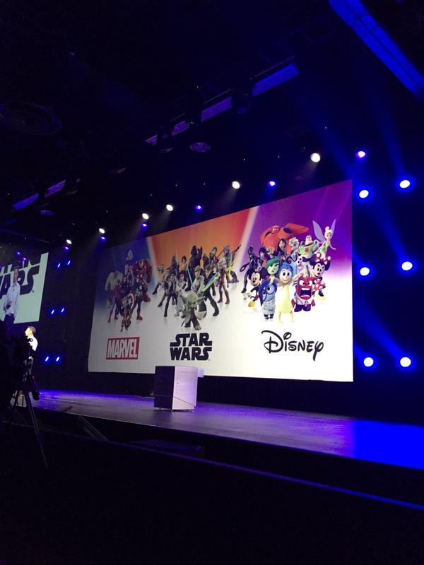 Disney Infinity The Force Awakens and Marvel playsets detailed at D23
