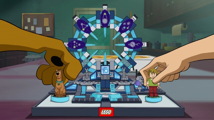 Scooby-Doo sneaks into LEGO Dimensions