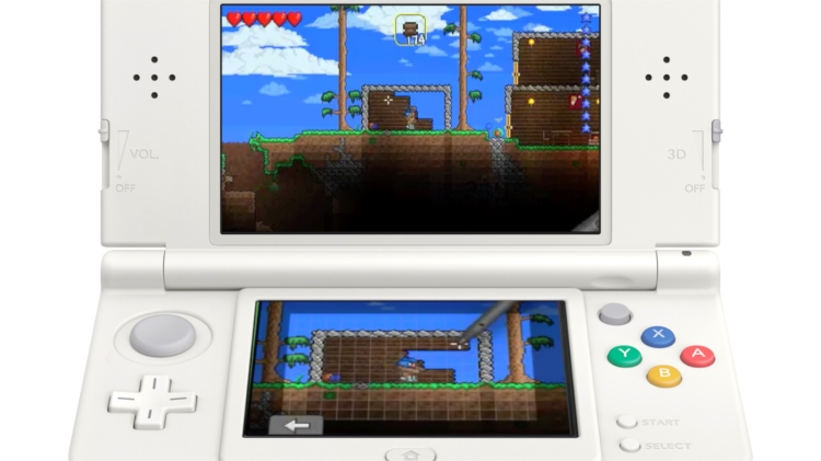 Terraria beats Minecraft to 3DS
