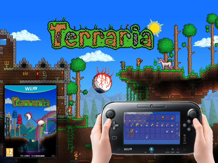 Terraria spawns onto Wii U and 3DS early 2016