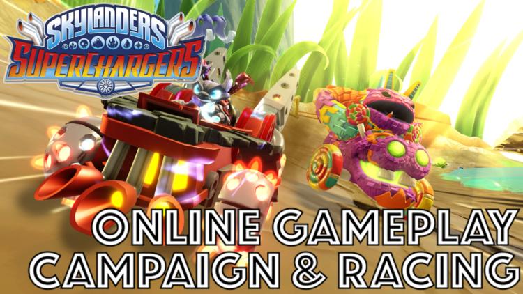 Skylanders SuperChargers online modes and Karting revealed