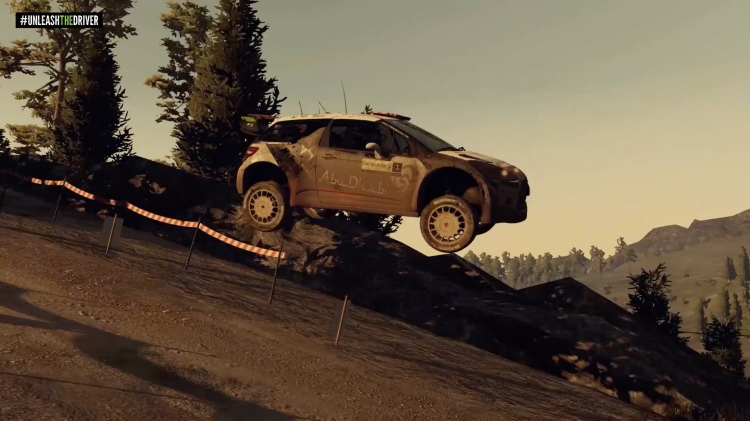 WRC 5 gameplay looks photo-realistic