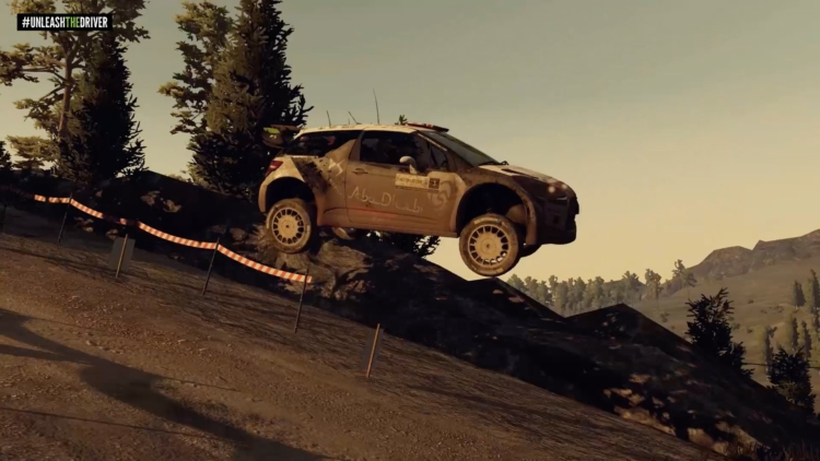 WRC 5 gameplay looks photo-realistic