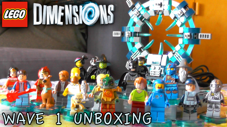 LEGO Dimensions wave 1 tested