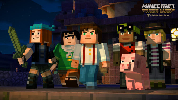 Minecraft Story Mode gets PEGI 12 rating