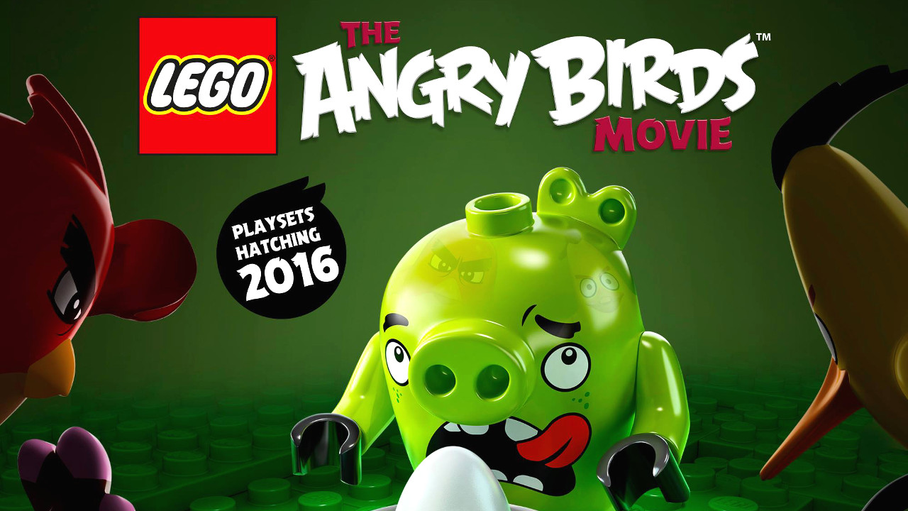 Lego Minifigures for Angry Birds Movie