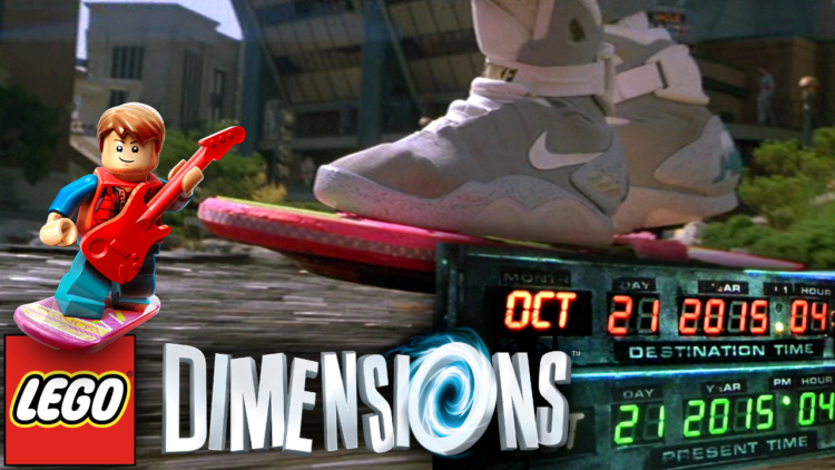 Back to the Future 2 day in Lego Dimensions