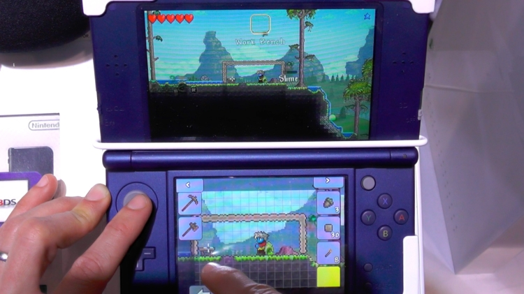New Terraria 3DS build impresses at EGX