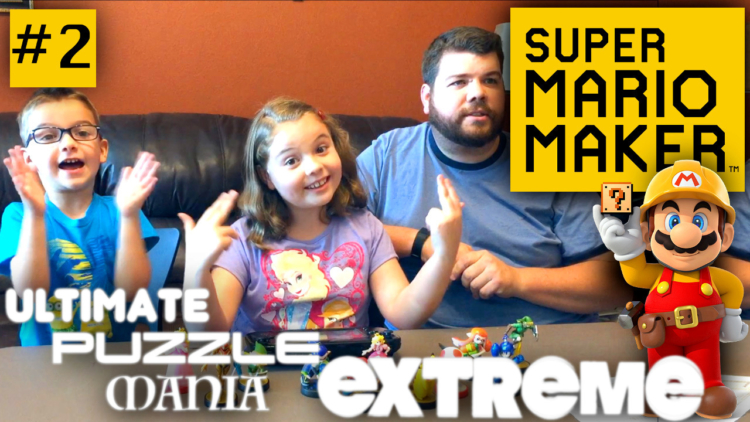 Families rise to the Super Mario Maker challenge