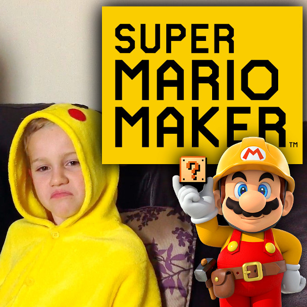 Super Mario Maker family challenge