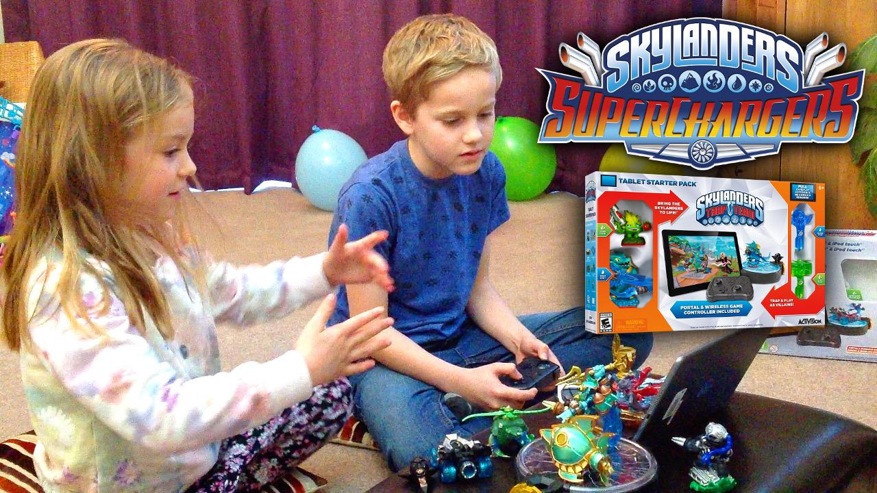 Skylanders Superchargers goes online on iOS