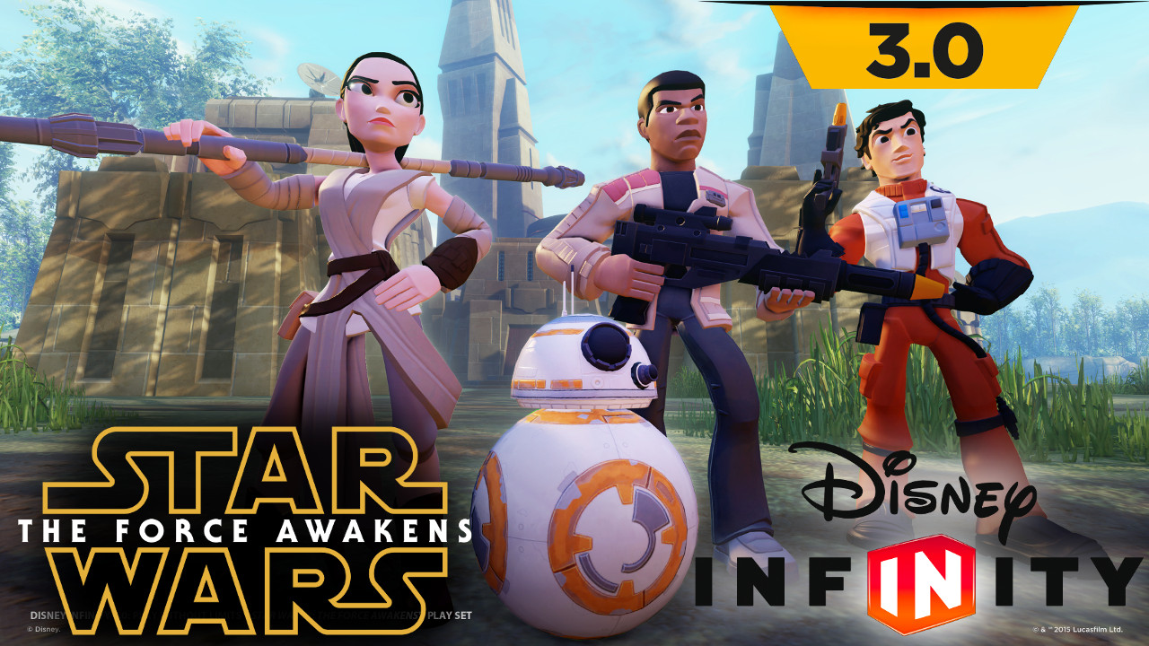 Disney Infinity adds The Force Awakens